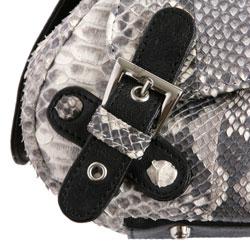 Женская сумка из кожи питона Alanda 24015, модель: 019-201-pyt