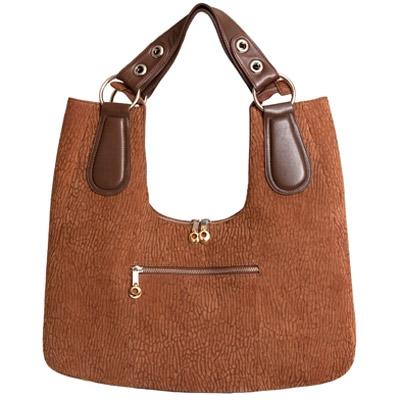 Женская сумка из кожи нерпы Alanda 23396, модель: 059-898-sea