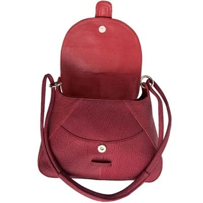 Женская сумка из кожи нерпы Alanda 24018, модель: 061-849-sea