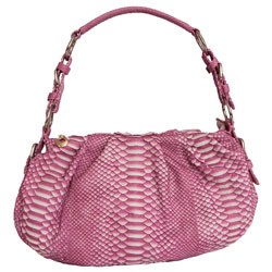 Модная спортивная сумка из кожи нерпы.