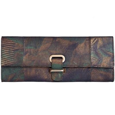 Женская сумка-клатч из кожи ящерицы Alanda 23381, модель: 064-402-liz