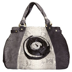 Женская сумка из кожи питона Alanda 23211, модель: 148-298-pyt